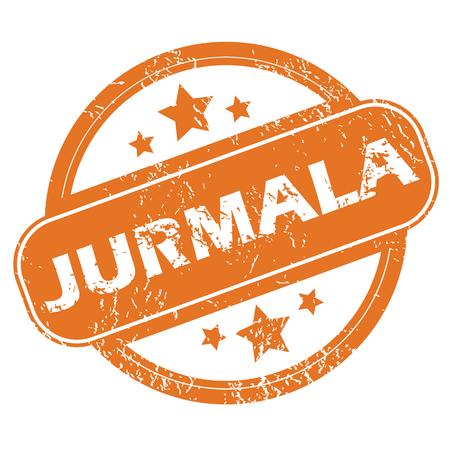 jurmala: Jurmala round stamp