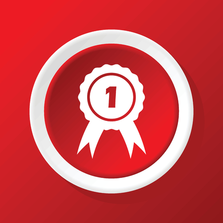 corroboration: 1st prize icon on red