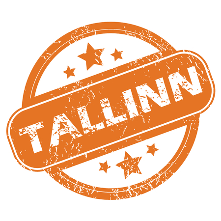 tallinn: Tallinn round stamp