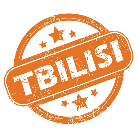 tbilisi: Tbilisi round stamp