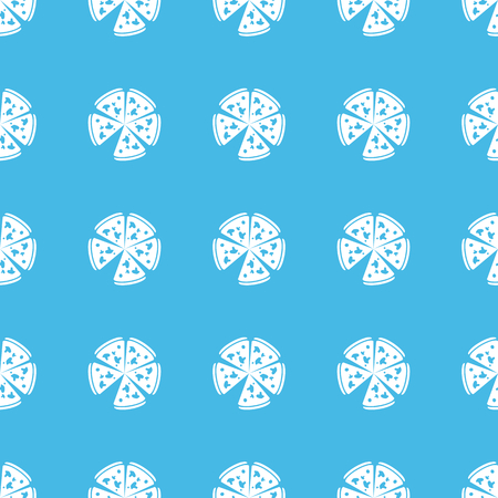straight: Pizza straight pattern