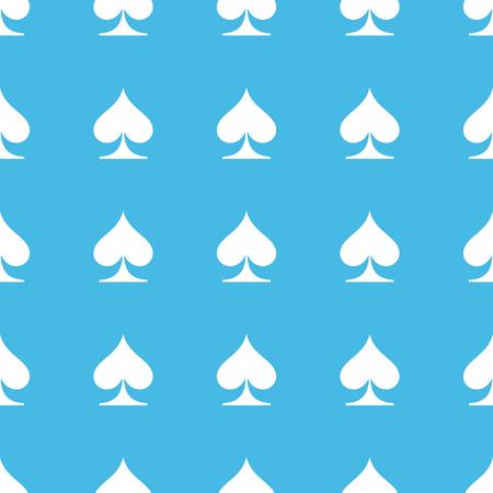 straight: Spades straight pattern Illustration