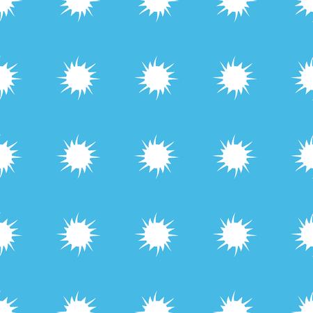 straight: Starburst straight pattern Illustration