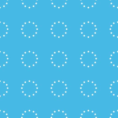 european: European union straight pattern Illustration