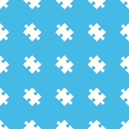 straight: Puzzle piece straight pattern Illustration
