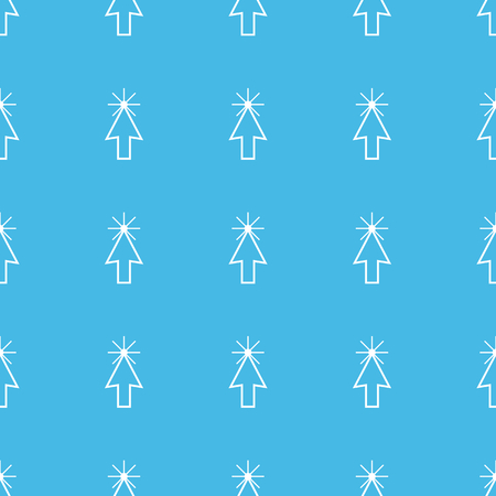 cursor: Arrow cursor straight pattern