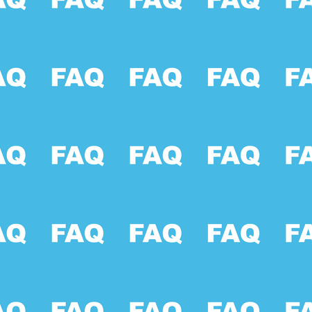 straight: FAQ straight pattern Illustration