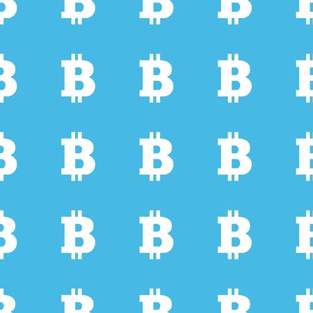 straight: Bitcoin straight pattern Illustration