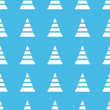 bypass: Traffic cone straight pattern Illustration