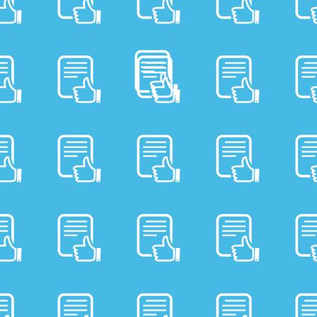 straight: Like document straight pattern Illustration