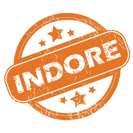 indore: Indore round stamp