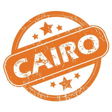 cairo: Cairo round stamp