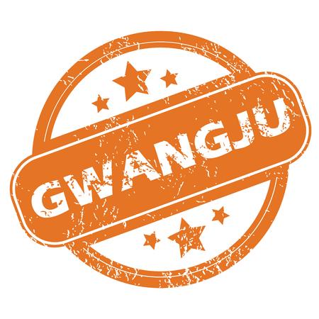 archive site: Gwangju round stamp