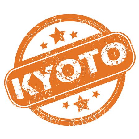 kyoto: Kyoto round stamp