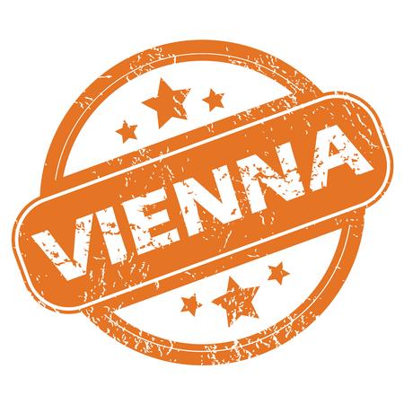 Vienna rubber stamp Vector