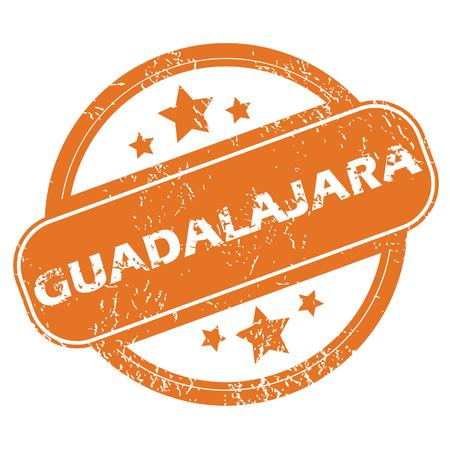guadalajara: Guadalajara rubber stamp