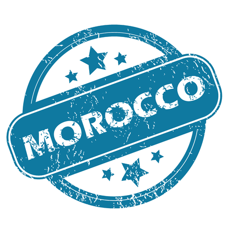 archive site: MOROCCO round stamp