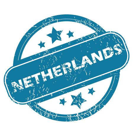 netherlands: NETHERLANDS round stamp
