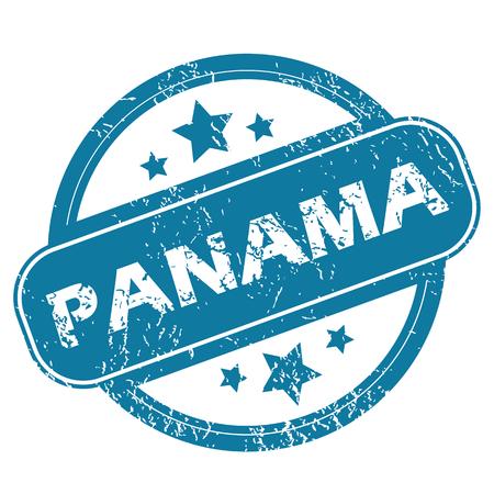 panama: PANAMA round stamp