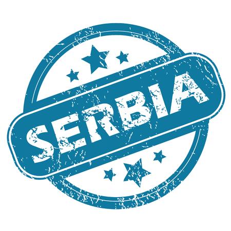 serbia: SERBIA round stamp
