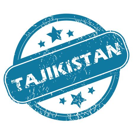 tajikistan: TAJIKISTAN round stamp