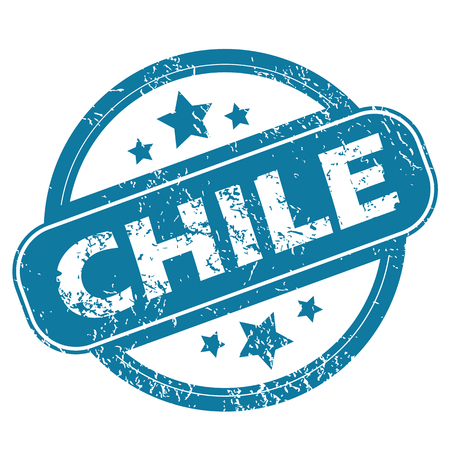 archive site: CHILE round stamp