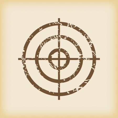 grungy: Grungy aim icon