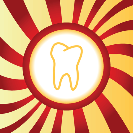 Tooth abstract icon Illustration