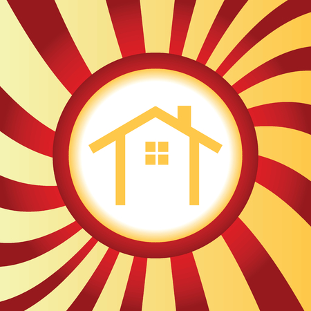 housetop: Cottage abstract icon