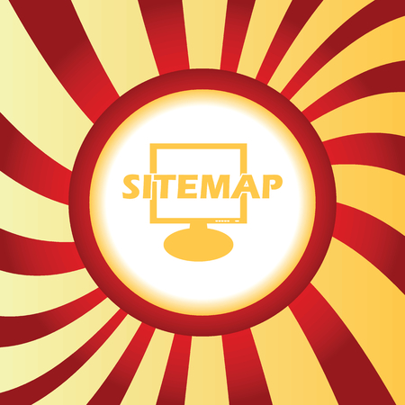 Sitemap abstract icon