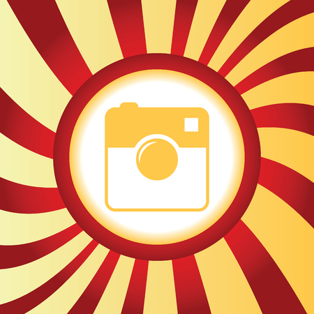 microblog: Square camera abstract icon
