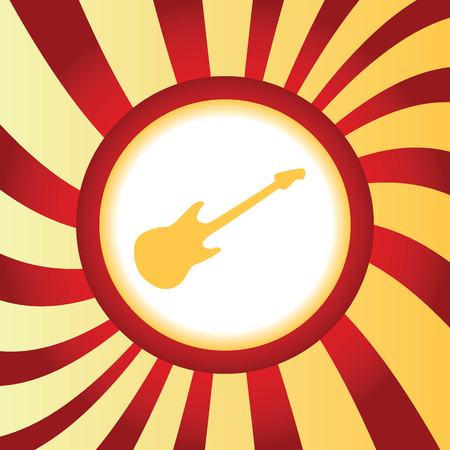 lead guitar: Guitar abstract icon