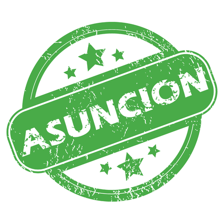 archive site: Asuncion green stamp