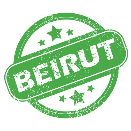 beirut: Beirut green stamp