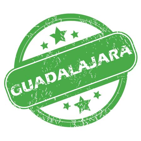 guadalajara: Guadalajara green stamp