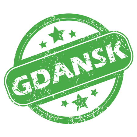 archive site: Gdansk green stamp