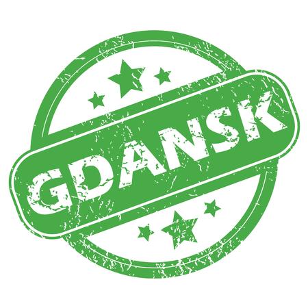 gdansk: Gdansk green stamp
