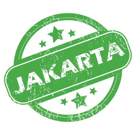 archive site: Jakarta green stamp