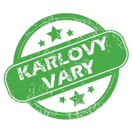 karlovy: Karlovy Vary green stamp