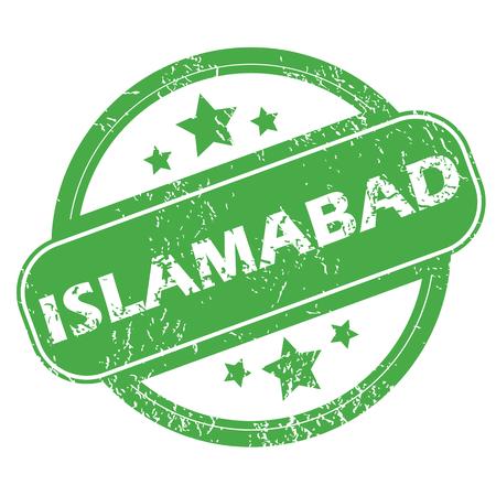islamabad: Islamabad green stamp