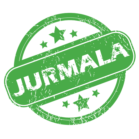 jurmala: Jurmala green stamp