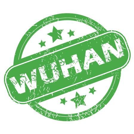 wuhan: Wuhan green stamp