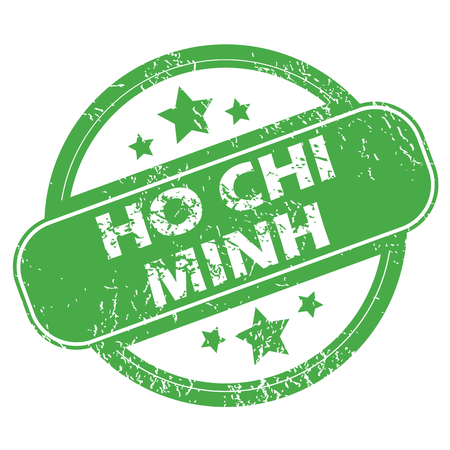 chi: Ho Chi Minh green stamp