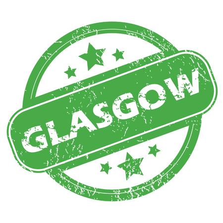glasgow: Glasgow green stamp