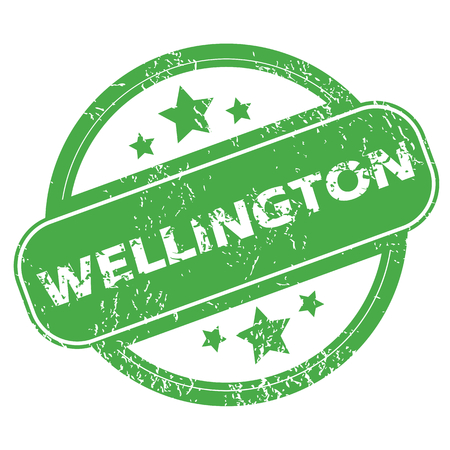 new zealand word: Wellington green stamp