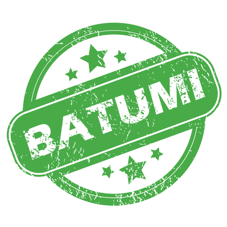 messy office: Batumi green stamp