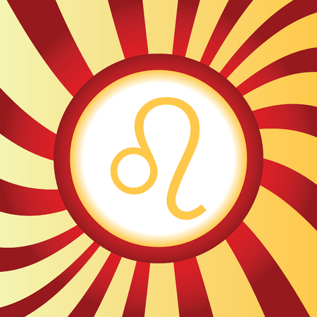 ecliptic: Leo abstract icon