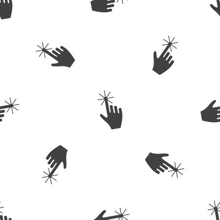 hand cursor: Hand cursor pattern Illustration