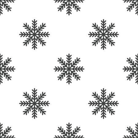 Snowflake pattern Ilustração