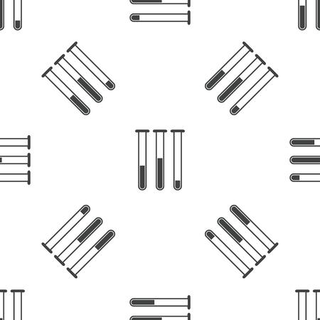 reagents: Test-tubes pattern Illustration